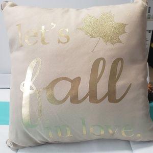 Fall Decorative Pillow